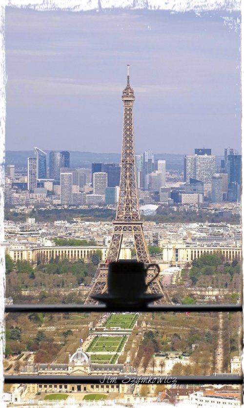 Magpie's Nest The Traveling Tea Cup and La Tour Eiffel