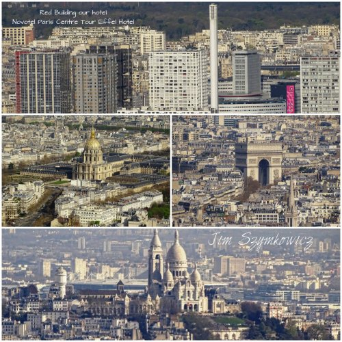 Magpie's Nest views from Montparnasse Tower