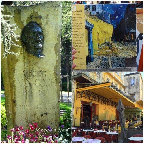 Magpie's Nest Arles Van Gogh