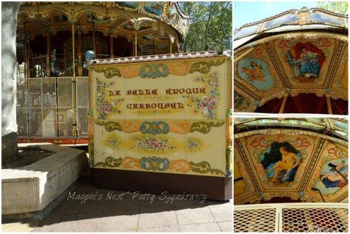 Magpie's Nest Avignon Carousel Belle Epoque