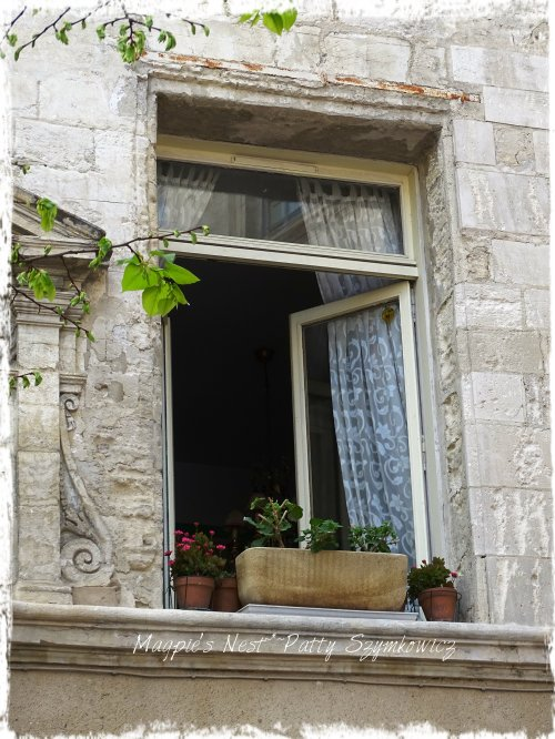 Magpie's Nest Avignon Window lace curtain