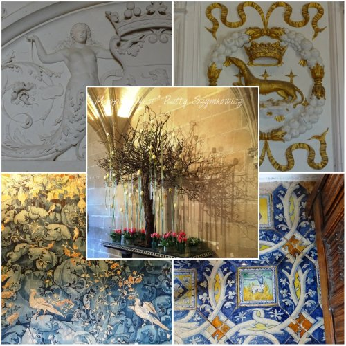 Magpie's Nest Chenonceau collage