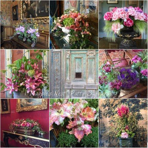 Magpie's Nest Chenonceau flower arrangements
