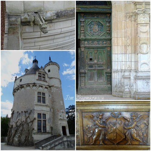 Magpie's Nest Chenonceau keep and door