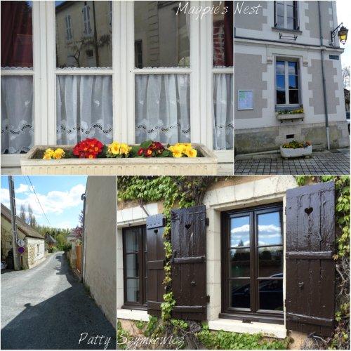 Magpie's Nest Chenonceaux village windows