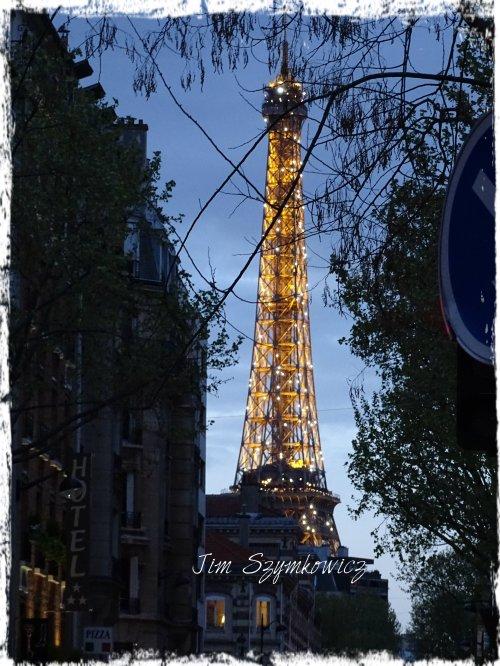 Magpie's Nest last night in Paris April 2016