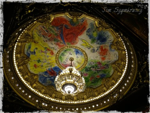 Magpie's Nest Opera Chagall's ceiling