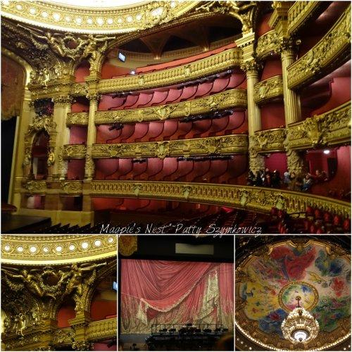 Magpie's Nest Paris Opera Garnier seats 2000