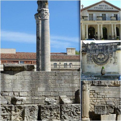 Magpie's Nest Patty Szymkowicz Arles ruins