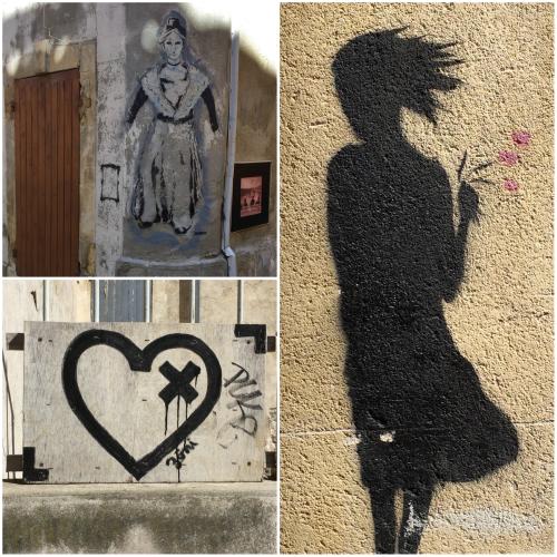 Magpie's Nest Patty Szymkowicz Arles street art sampler