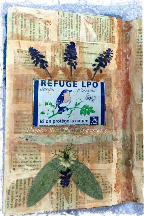 Magpie's Nest Patty Szymkowicz Bird Refuge Giverny