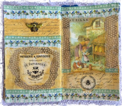 Magpie's Nest Patty Szymkowicz French Bee Journal Pages