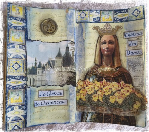 Magpie's Nest Patty Szymkowicz Journey to Chateau Chenonceau