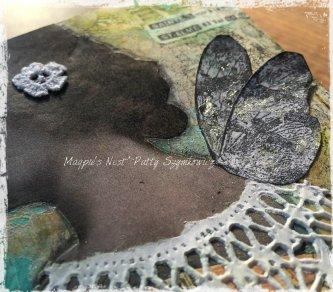 Magpie's Nest Patty Szymkowicz Nuvo Gilding flakes