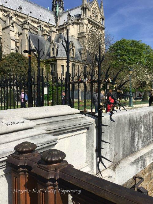 Magpie's Nest Patty Szymkowicz Paris ici la revolution Notre Dame