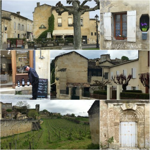 Magpie's Nest Patty Szymkowicz welcome to Saint Emilion