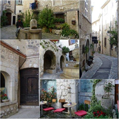 Magpie's Nest streets of St Paul de Vence