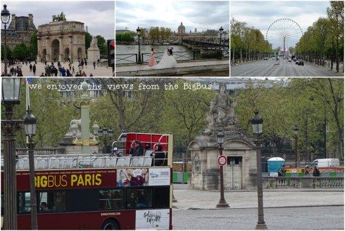 Sabine Jim and Patty on the BigBus Paris Tour