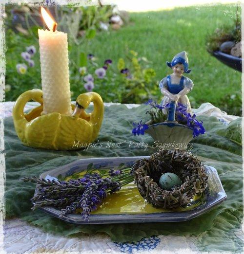 Magpie's Nest Patty Szymkowicz Lavender blue
