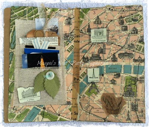 Magpie's Nest Patty Szymkowicz Map of Paris