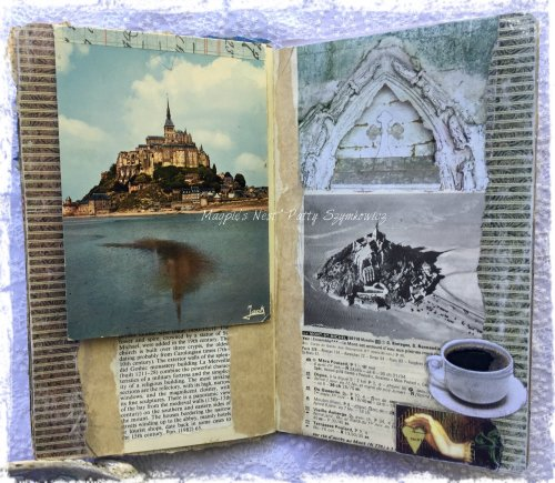 Magpie's Nest Patty Szymkowicz Mont Saint Michel journal pgs