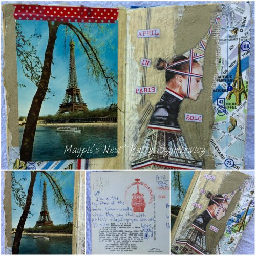 Magpie's Nest Patty Szymkowicz Paris Postcard from the past