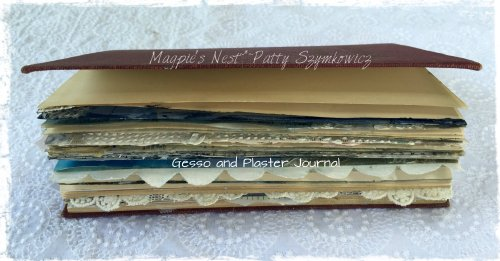 Magpie's Nest Patty Szymkowicz Plaster Journal