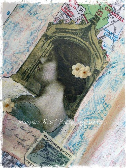 Magpie's Nest Patty Szymkowicz postcard lady