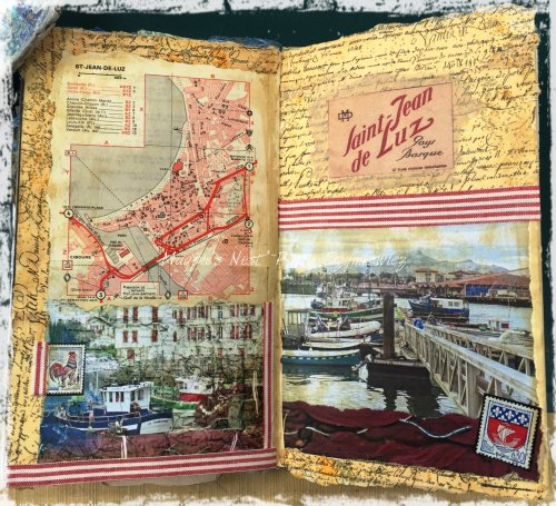 Magpie's Nest Patty Szymkowicz Saint Jean de Luz Journal Pgs