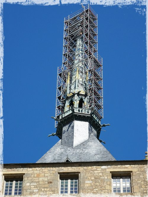 Magpie's Nest Patty Szymkowicz spire renovation