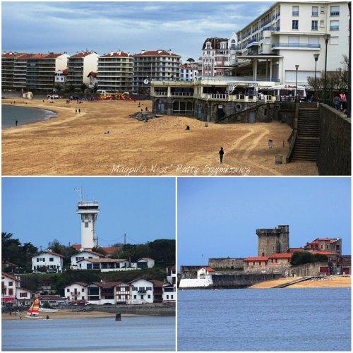 Magpie's Nest Saint Jean de Luz beach