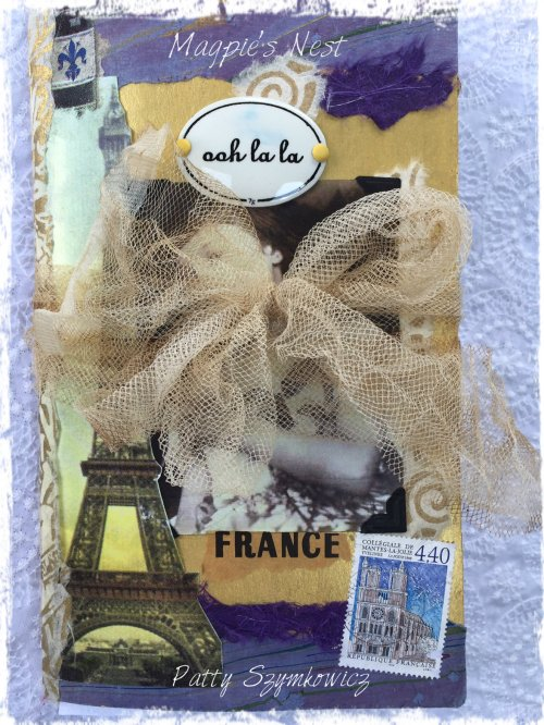 Magpie's Nest French Travel Journal 2016 Cover