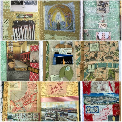 Magpie's Nest Patty Szymkowicz assorted French Journal Pages