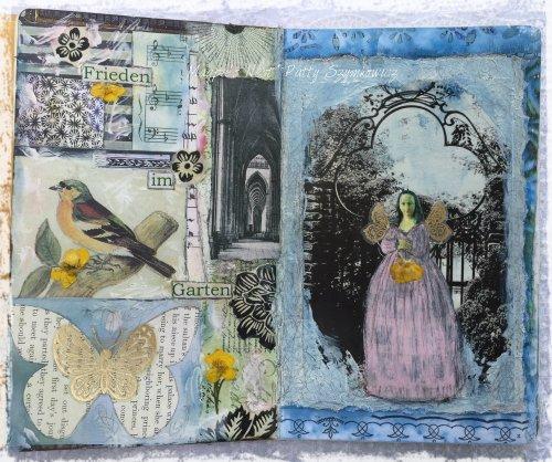 Magpie's Nest Patty Szymkowicz Frieden im Garten