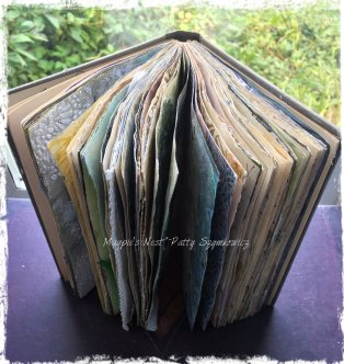 Magpie's Nest Patty Szymkowicz Gesso Journal