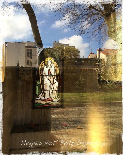 Magpie's Nest Patty Szymkowicz Paris Cemetery reflection