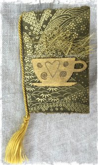 Magpie's Nest Patty Szymkowicz tea journal cover