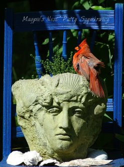 Patty Szymkowicz Thyme Lady and Mr Cardinal