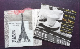 French napkins from Linda Kunsman