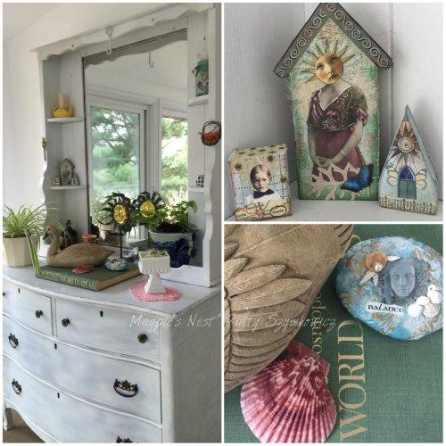 Magpie's Nest Patty Szymkowicz Oak Dresser