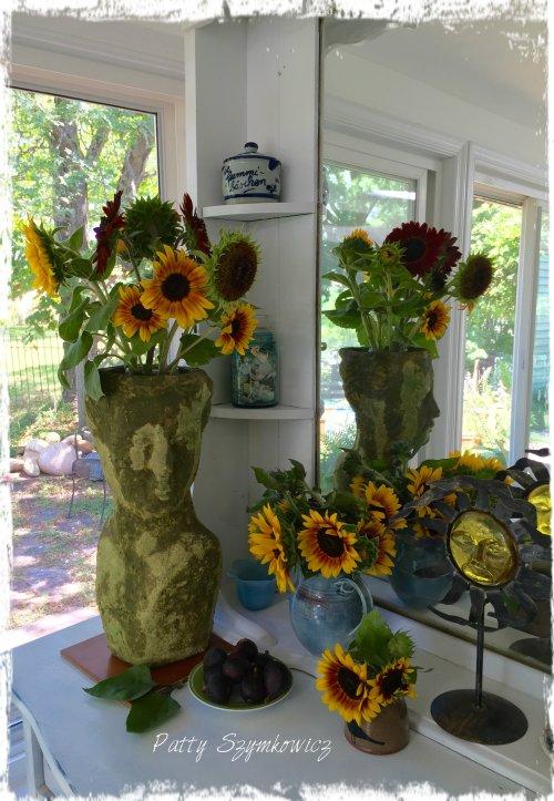 Magpie's Nest Patty Szymkowicz Sunflowers and Figs
