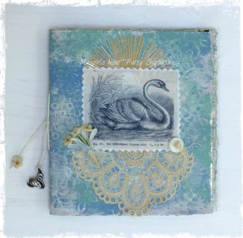 Magpie's Nest Patty Szymkowicz Swan Song art journal