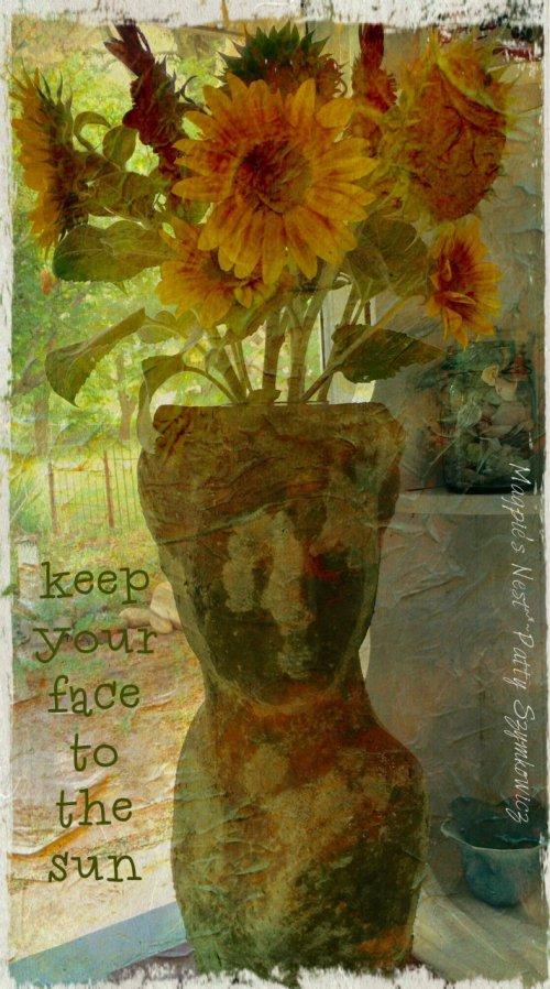 Magpie's Nest Sunflower Lady