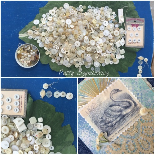 Magpie's Nest Swan book cover finishing touches