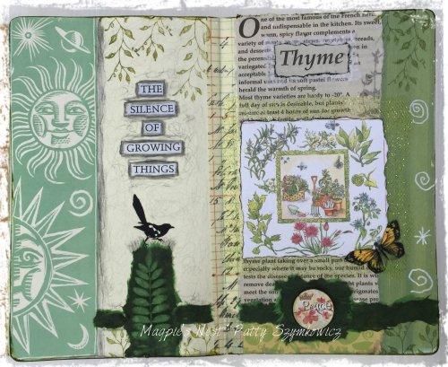 Magpie's Nest Thyme in the garden