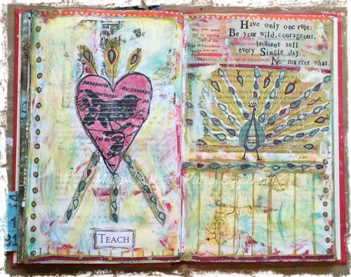 magpies-nest-patty-szymkowicz-teach-art-journal-pages