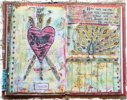 magpies-nest-patty-szymkowicz-teach-art-journal-pages